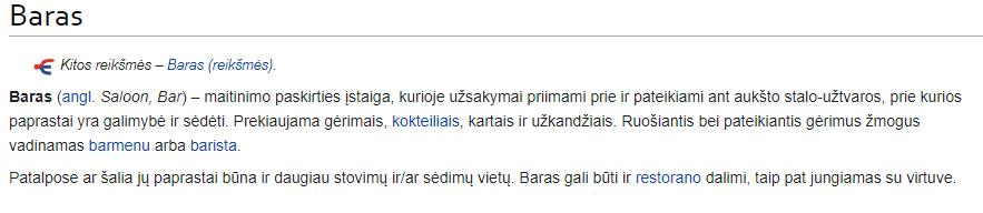 wikipedia baras
